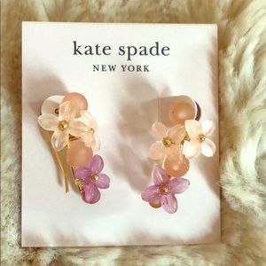 Lovely Kate Spade Floral Earrings NWT